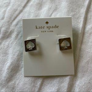 Kate Spade Sliver Stud Earrings